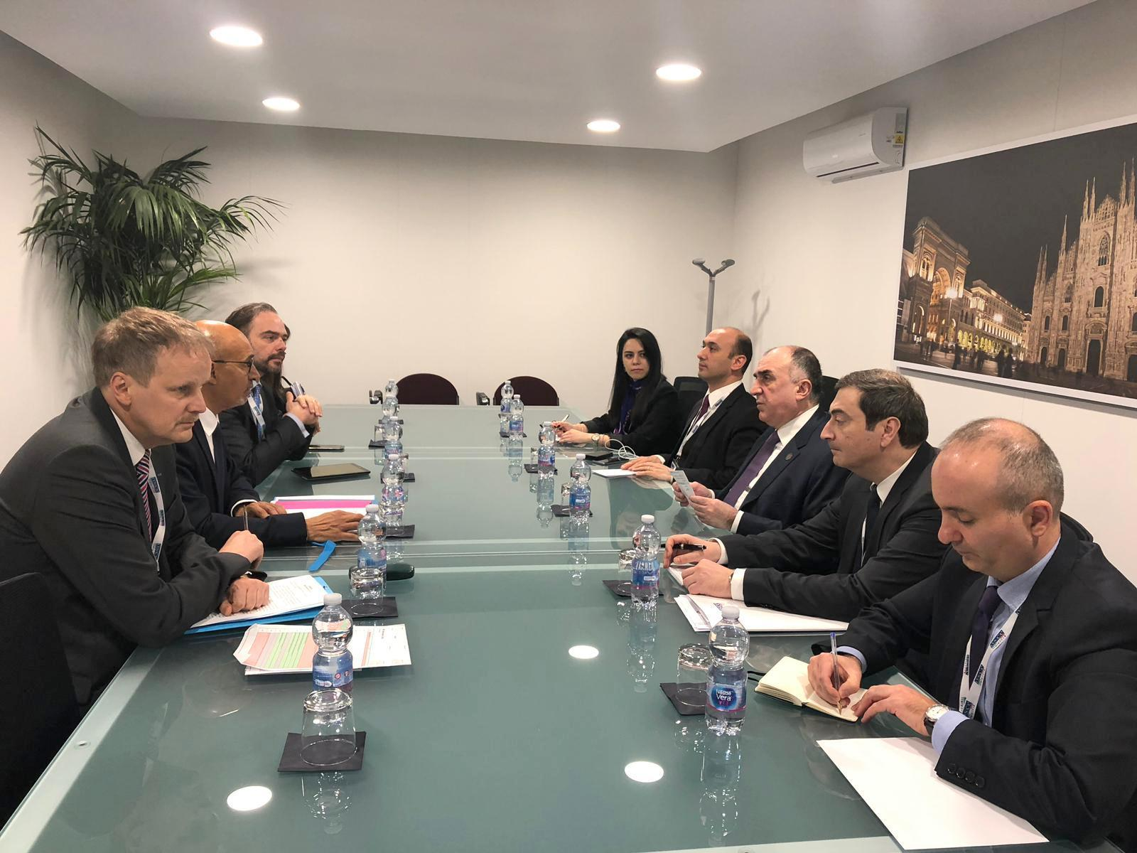 Azerbaijani FM meets OSCE rep on freedom of media (PHOTO) - Gallery Image