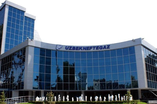 Uzbekneftegaz repairs equipment at Alan gas treatment complex