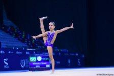 Bədii gimnastika üzrə 25-ci Azərbaycan Birinciliyinin üçüncü günü başlayıb (FOTO) - Gallery Thumbnail