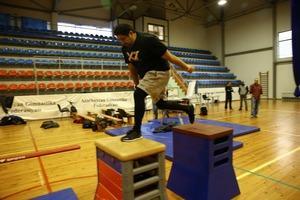 Bakıda parkur gimnastika növü üzrə təqdimat xarakterli kurslar keçirilib (FOTO) - Gallery Image