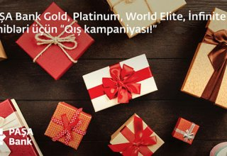 """PAŞA Bank Gold, Platinum, World Elite, İnfinite kart sahibləri üçün """"Qış kampaniyası"""""""