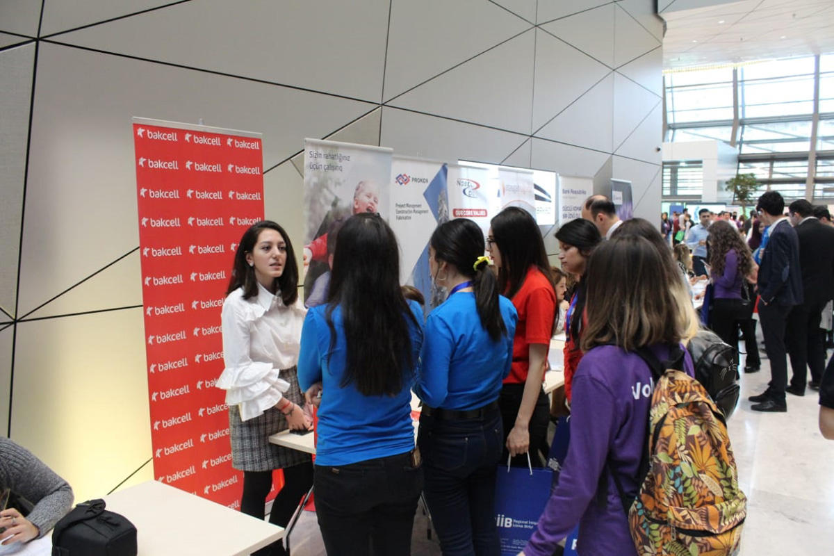 Bakcell joins yet another large employment fair (PHOTO) - Gallery Image