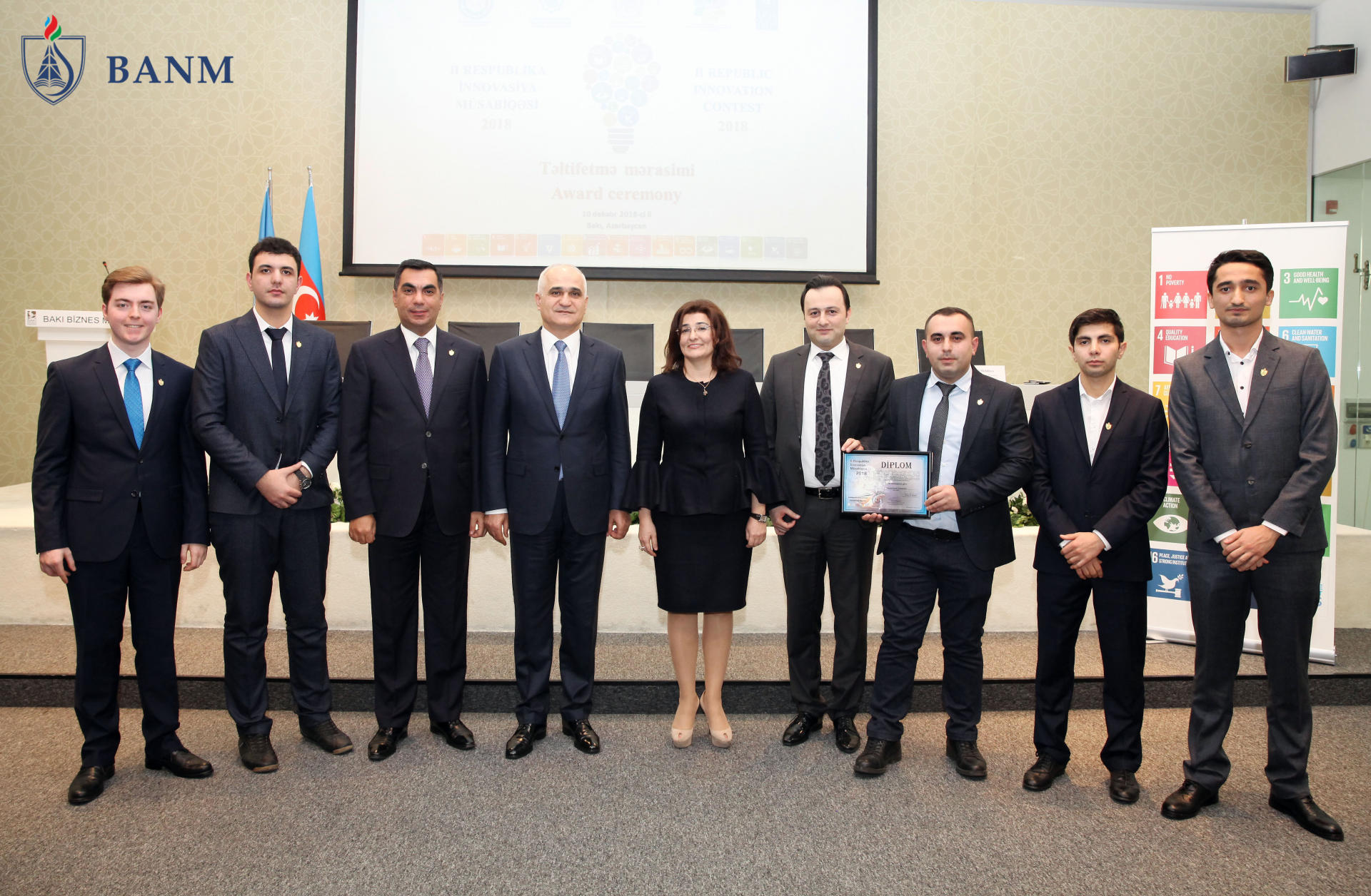 Baku Higher Oil School students-winners of 2nd National Innovation Contest receive awards