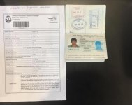 Five foreigners try to enter Azerbaijan with fake documents (PHOTO) - Gallery Thumbnail