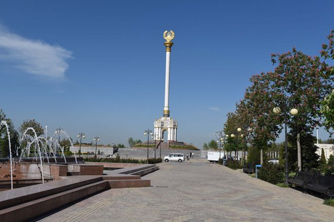 A clock tower expected to be erected in Tajik capital in March next year