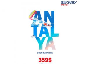 Silk Way Travel's favorable offer: Tour package to Antalya for only $359