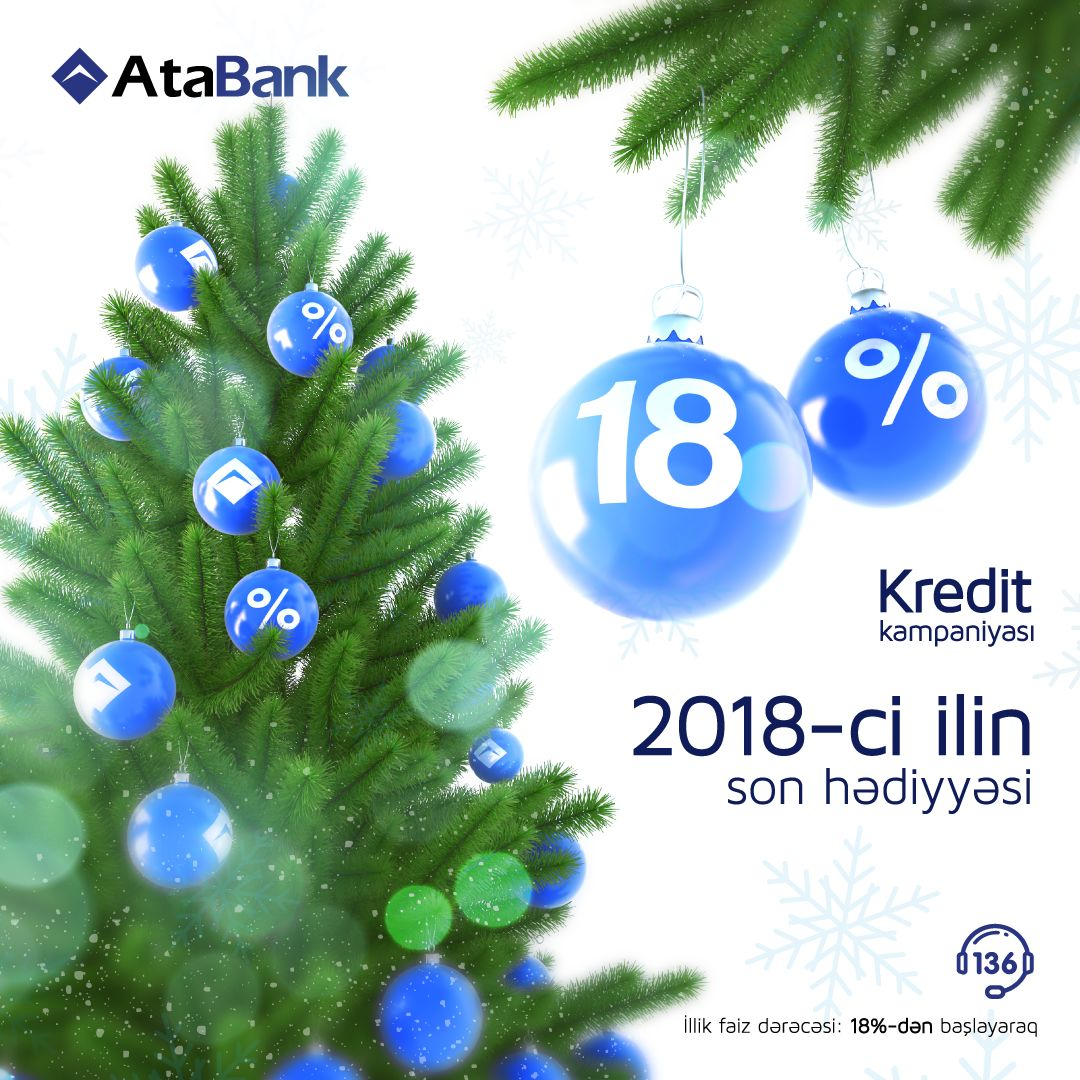 Last gift of 2018 from AtaBank