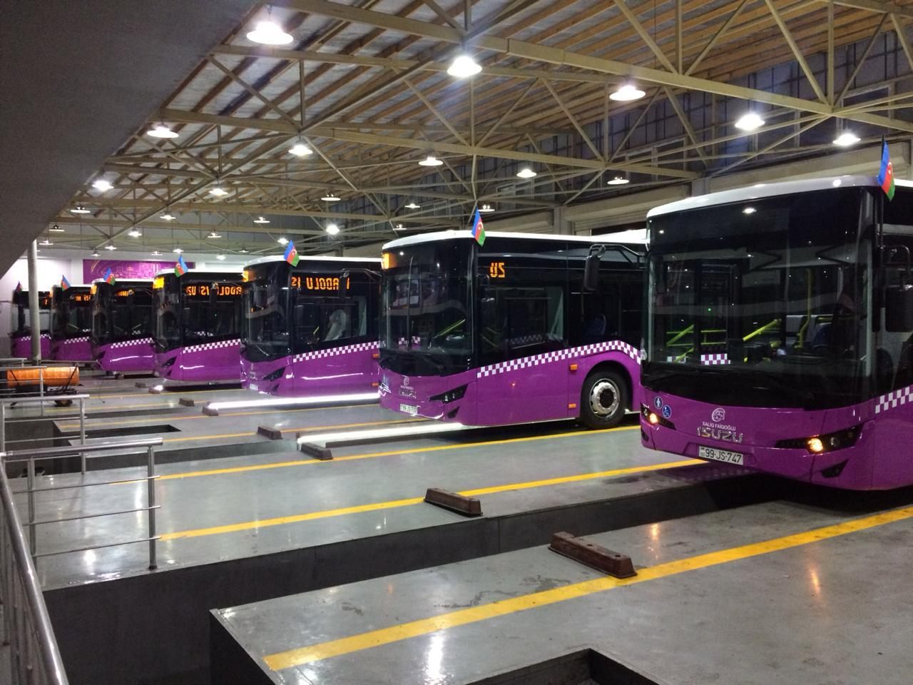 New buses of EURO 6 standard delivered to Baku