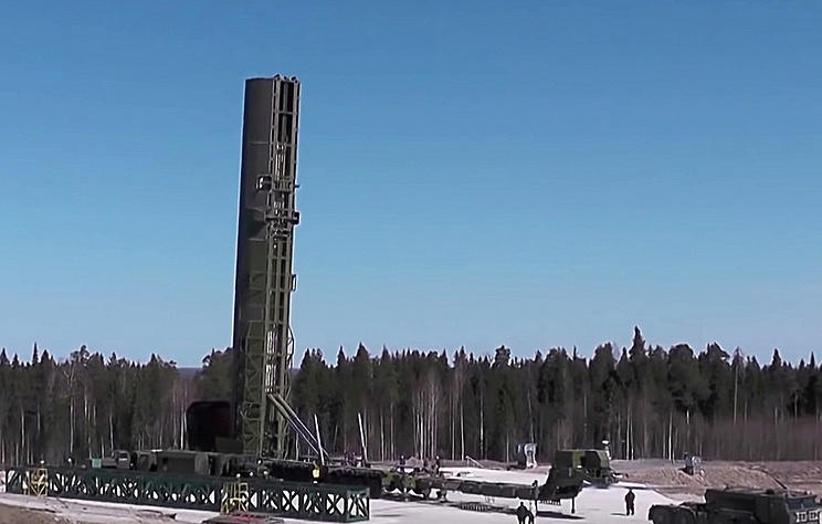Russia to begin flight tests of Sarmat ICBM in nearest perspective