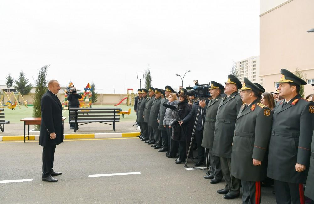 President Aliyev: Process of payment of 11,000 manats to descendants of martyrs has begun