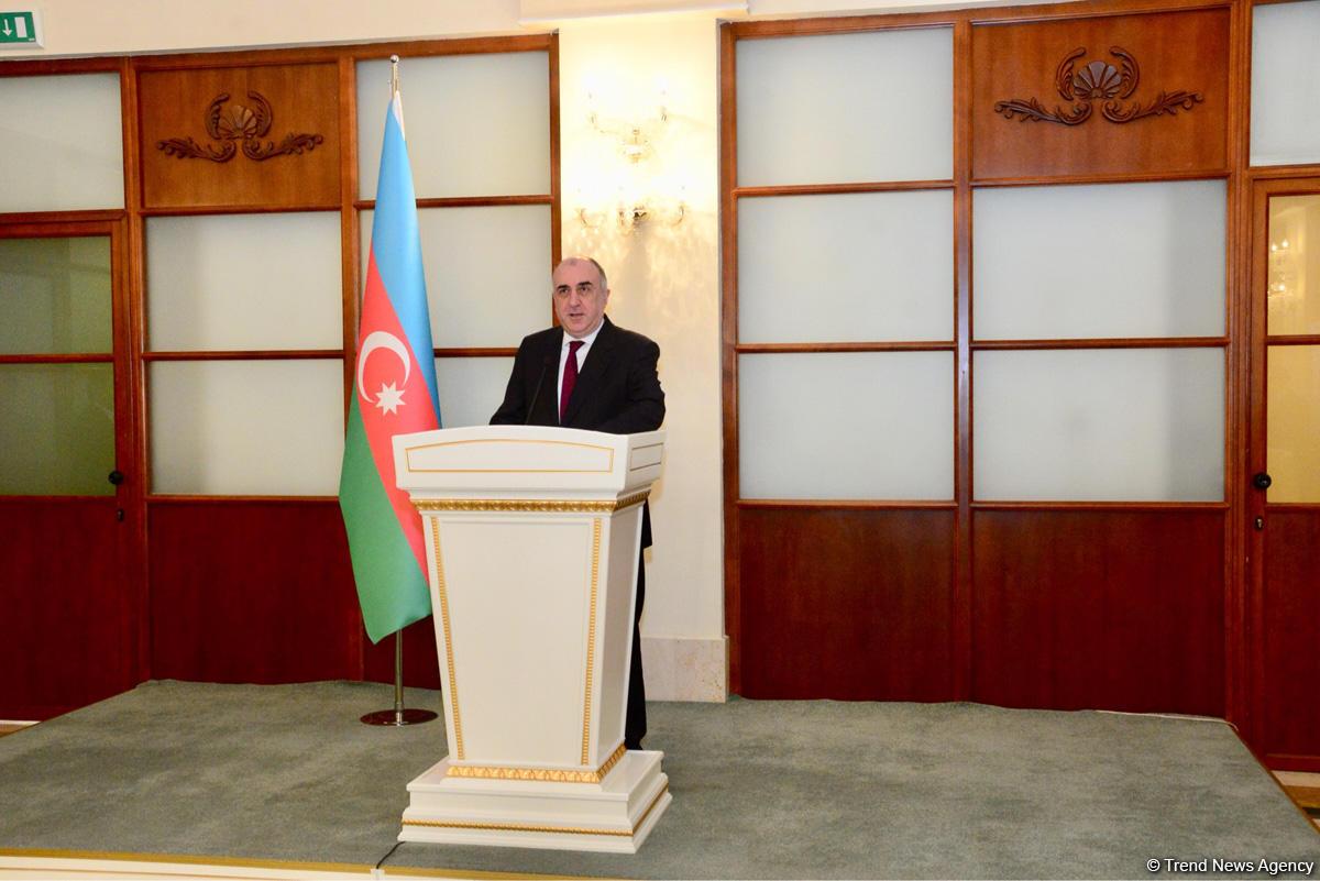 Azerbaijan FM: Karabakh conflict's settlement to remain main task in 2019 (PHOTO) - Gallery Image