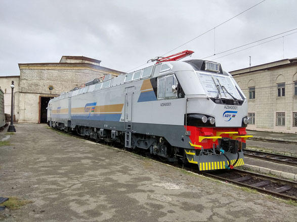 Latvian company delivers some diesel locomotives to Azerbaijan following repair work