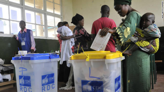 Congo opposition cries foul after presidential poll blighted by mishaps