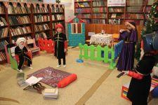 """""""Ailəliklə kitabxanaya"""" layihəsi çərçivəsində Binəqədi Mərkəzi Kitabxanasında tədbir keçirilib (FOTO) - Gallery Thumbnail"""