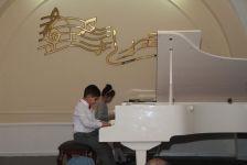 Rəşid Behbudov adına 2 nömrəli musiqi məktəbinin təmirdən sonra açılışı olub (FOTO) - Gallery Thumbnail
