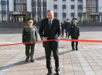 President Aliyev inaugurates new education block of Interior Ministry's Police Academy (PHOTO) - Gallery Thumbnail