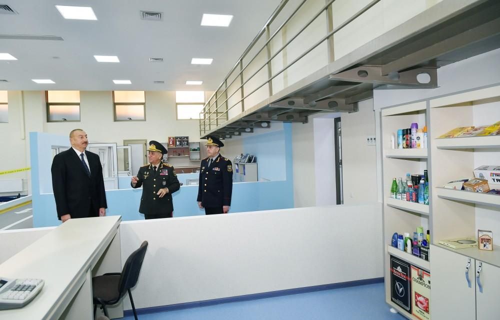 President Aliyev inaugurates new education block of Interior Ministry's Police Academy (PHOTO) - Gallery Image