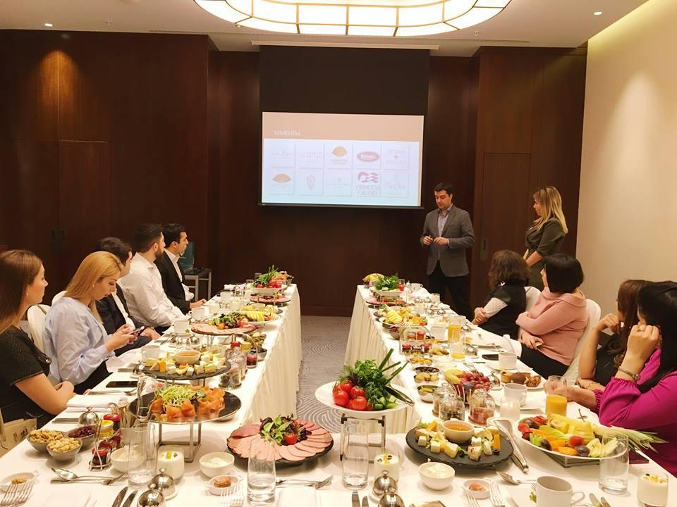 First Class Hospitality held business breakfast at Boulevard Baku Autograph Collection (PHOTO) - Gallery Image