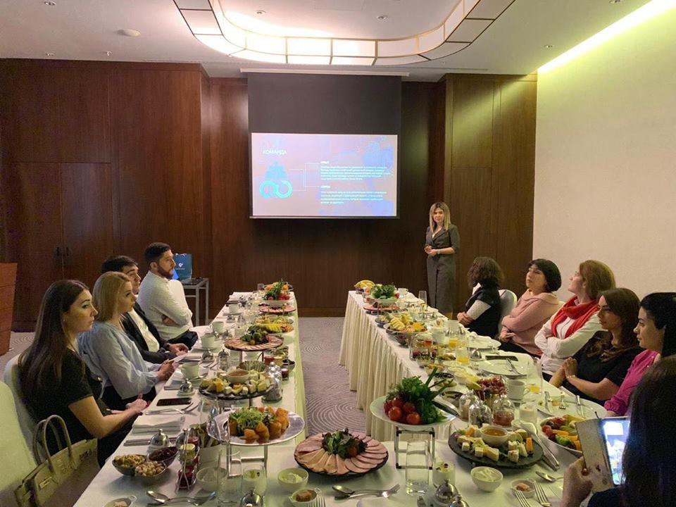 First Class Hospitality held business breakfast at Boulevard Baku Autograph Collection (PHOTO)