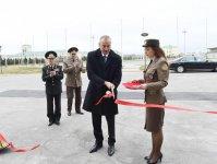 Президент Ильхам Алиев принял участие в открытии  спортивно-оздоровительного клуба МЧС (ФОТО) - Gallery Thumbnail