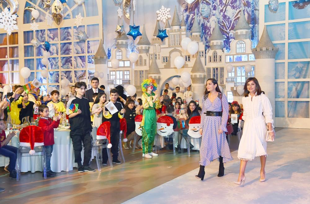 First VP Mehriban Aliyeva attends traditional New Year party for children (PHOTO)