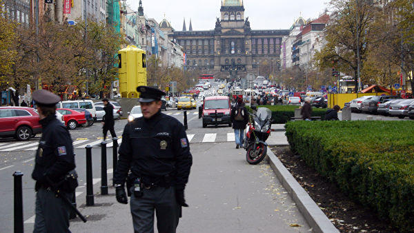 Explosion in Czech town hall, no one injured: police