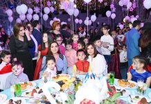 First VP Mehriban Aliyeva attends traditional New Year party for children (PHOTO) - Gallery Thumbnail