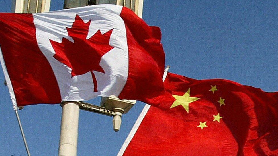 Canadian detained in China has been released