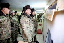 Руководство минобороны Азербайджана находится в прифронтовой зоне (ФОТО) - Gallery Thumbnail