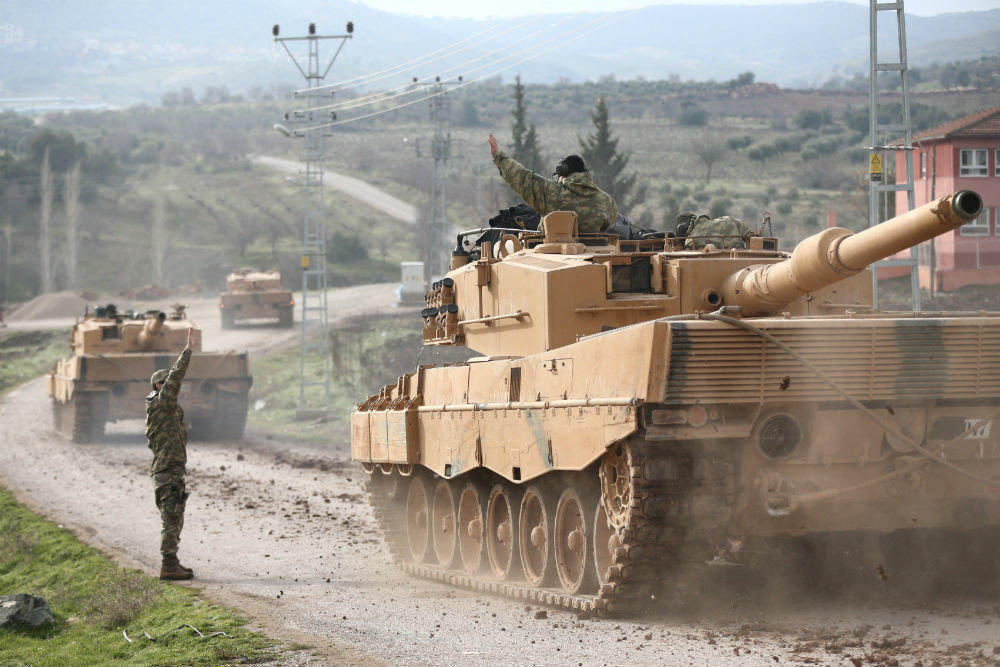 Turkish Armed Forces launched offensive on Syria's Manbij city