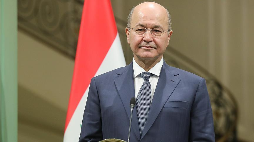 Iraqi president calls for removal of barriers to economic co-op with Iran