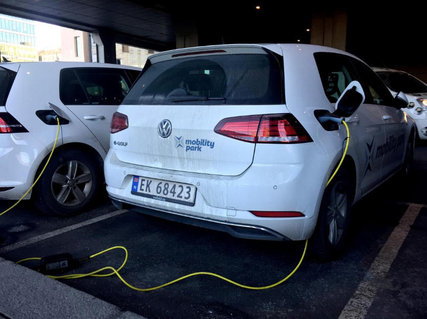 Norway's electric cars zip to new record: almost a third of all sales