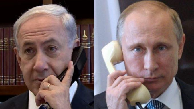 Netanyahu, Putin agree to continue coordination on Syria