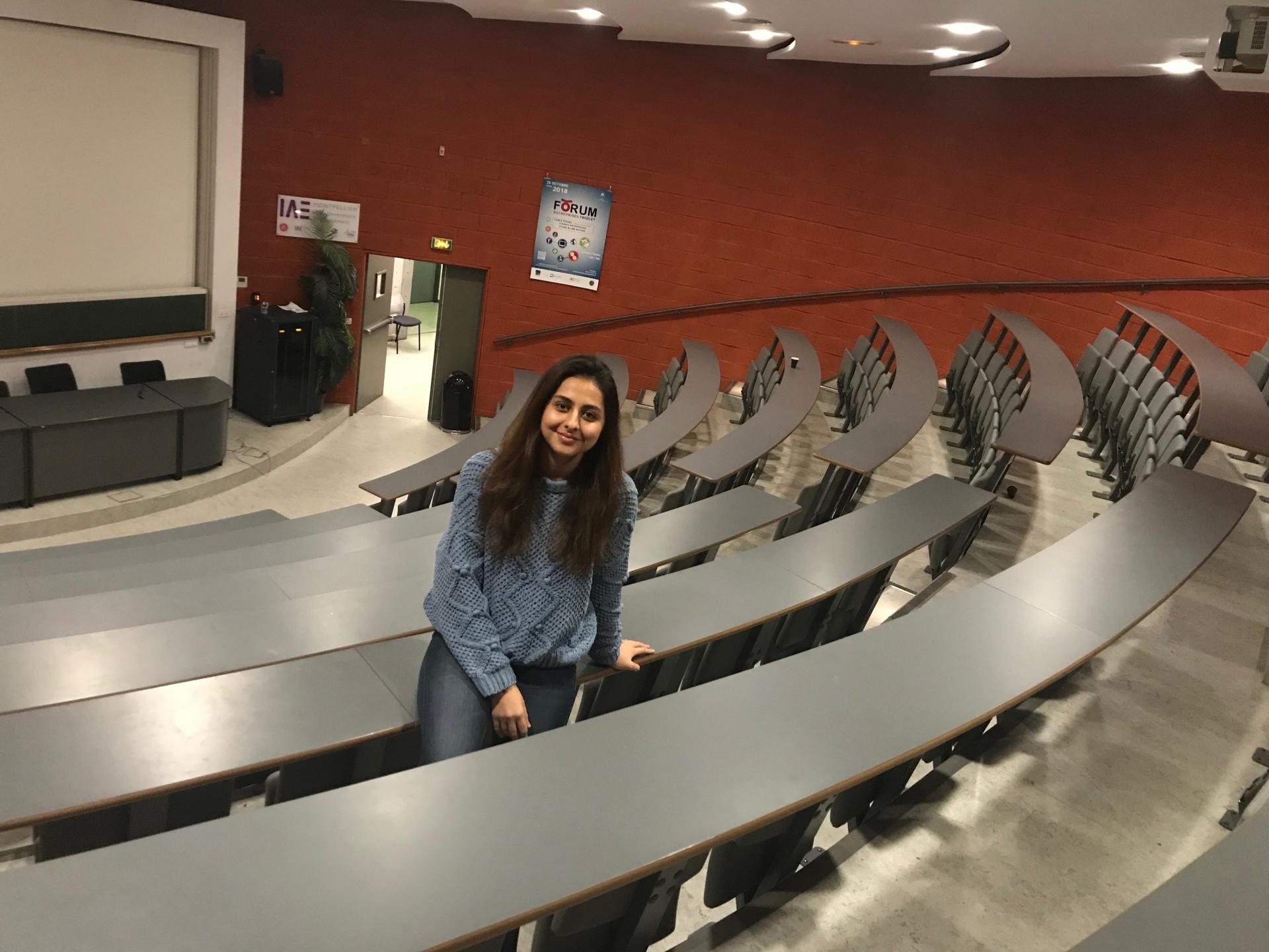 """""""I did not have difficulty at Montpellier as I was studying in English at UNEC"""" (PHOTO) - Gallery Image"""