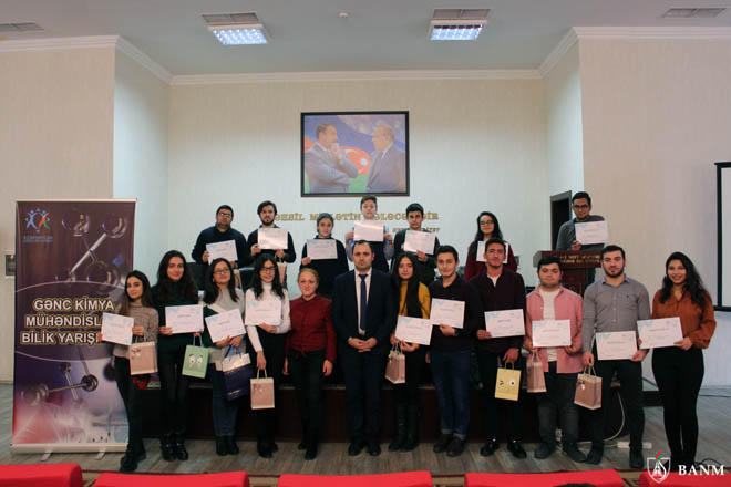 Baku Higher Oil School conducts Knowledge contest with support from Youth Foundation