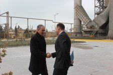Minister of Environment and Natural Resources visits Holcim Azerbaijan Garadagh Cement Plant (PHOTO) - Gallery Thumbnail