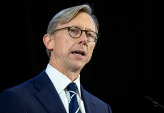 U.S. Iran envoy Brian Hook stepping down as key U.N. arms embargo vote looms