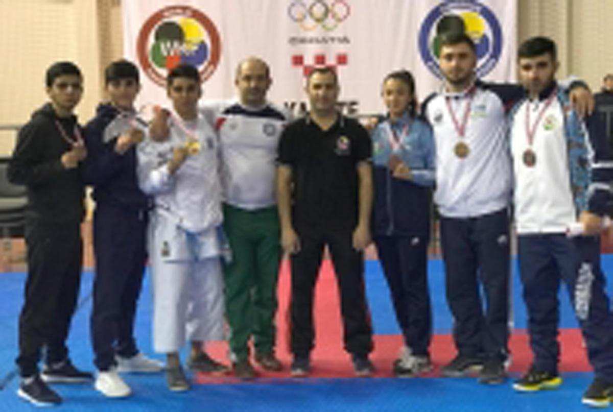 Karateçilərimiz Qran Pri turnirini 10 medalla başa vurdu (FOTO)