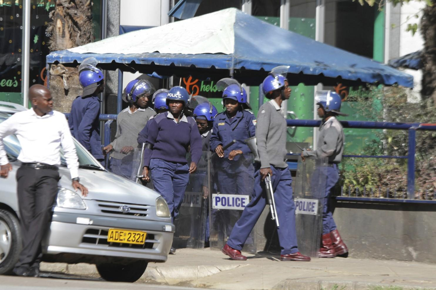 Zimbabwe police ban opposition protest planned for Monday