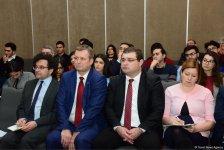 В Баку прошла конференция, посвященная безопасности в Восточной Европе и постсоветских странах (ФОТО) - Gallery Thumbnail