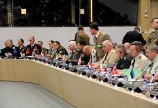 Azerbaijani chief of general staff attends NATO meeting in Brussels (PHOTO)