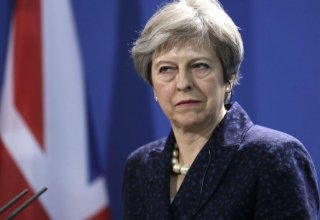 UK PM May: Keep talking to businesses as Brexit nears