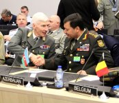 Azerbaijani chief of general staff attends NATO meeting in Brussels (PHOTO) - Gallery Thumbnail