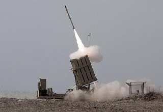 Israel's Iron Dome intercepts rocket from Gaza: army