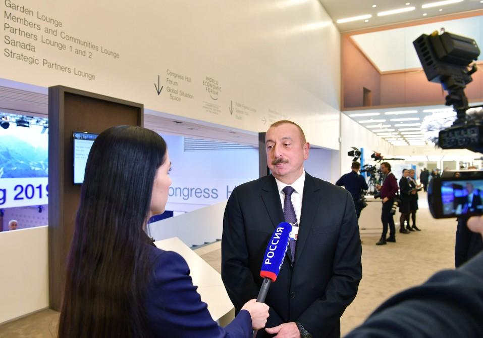 Azerbaijani president: UN Security Council resolutions in some cases remain on paper, leading to devaluation of int'l world order