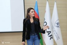 """Generation Y and the New Work Place"" topic presented to Baku Higher Oil School students (PHOTO) - Gallery Thumbnail"
