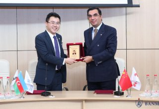 Baku Higher Oil School starts cooperation with Huawei company