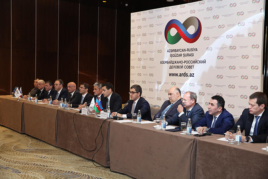 Azerbaijan-Russia Business Council eyes to develop co-op (PHOTO)