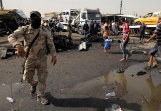 Blasts heard in Baghdad amid reports of rockets landing in US Embassy