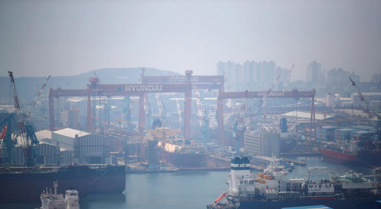South Korea to combine world's two biggest shipbuilders in $2 bln deal